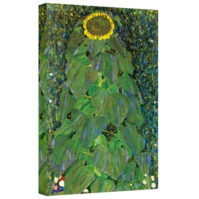 Brushstone The Park By Gustav Klimt Gallery Wrapped Canvas Wall Art