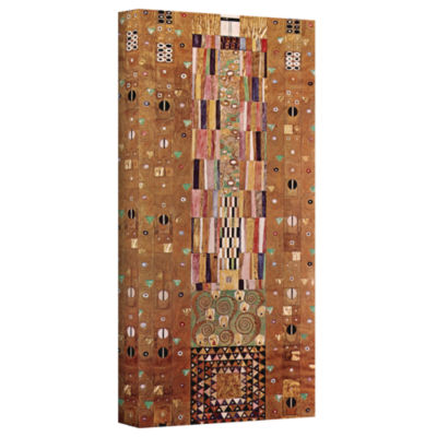 Brushstone The Sunflower By Gustav Klimt Gallery Wrapped Canvas Wall Art
