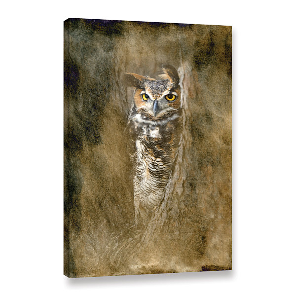 Brushstone The Sentry by Antonio Raggio Gallery Wrapped Canvas Wall Art