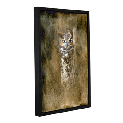 Brushstone The Sentry by Antonio Raggio Gallery Wrapped Floater-Framed Canvas Wall Art