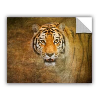 Brushstone Tiger by Antonio Raggio Removable WallDecal