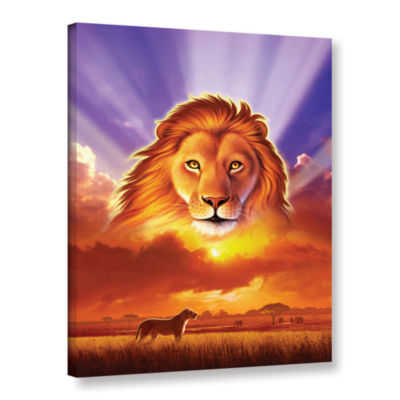 Brushstone The Lion King Gallery Wrapped Canvas Wall Art
