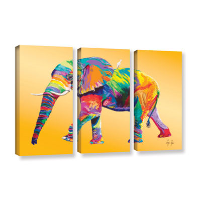 Brushstone The Ride 3-pc. Gallery Wrapped Canvas Wall Art