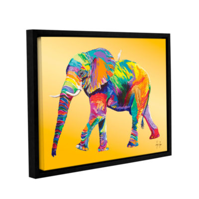 Brushstone The Ride Gallery Wrapped Floater-FramedCanvas Wall Art