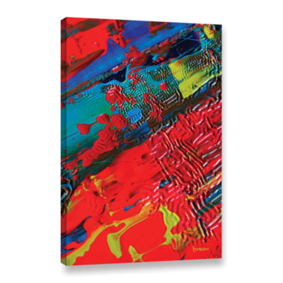 Brushstone The Land Of Isle Gallery Wrapped CanvasWall Art