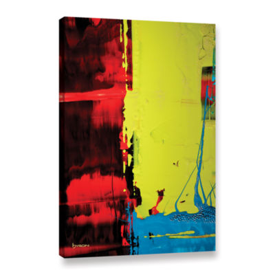 Brushstone Turbulent Times Gallery Wrapped CanvasWall Art