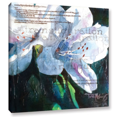 Brushstone Transfiguration Gallery Wrapped CanvasWall Art