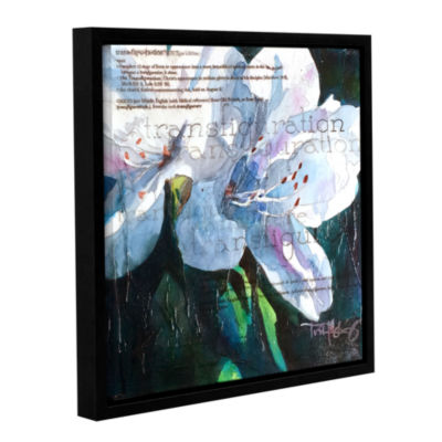 Brushstone Transfiguration Gallery Wrapped Floater-Framed Canvas Wall Art