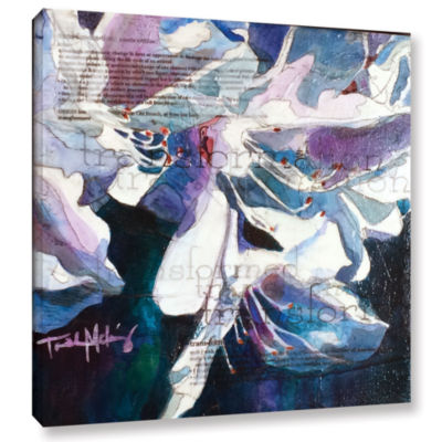 Brushstone Transformation Gallery Wrapped Canvas Wall Art