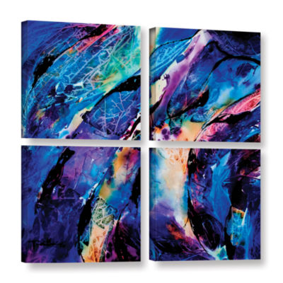 Brushstone Trusting 4-pc. Square Gallery Wrapped Canvas Wall Art