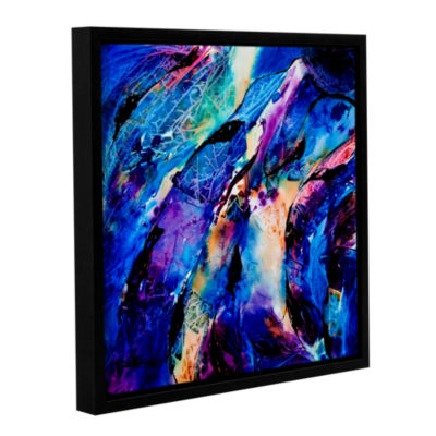 Brushstone Trusting Gallery Wrapped Floater-FramedCanvas Wall Art