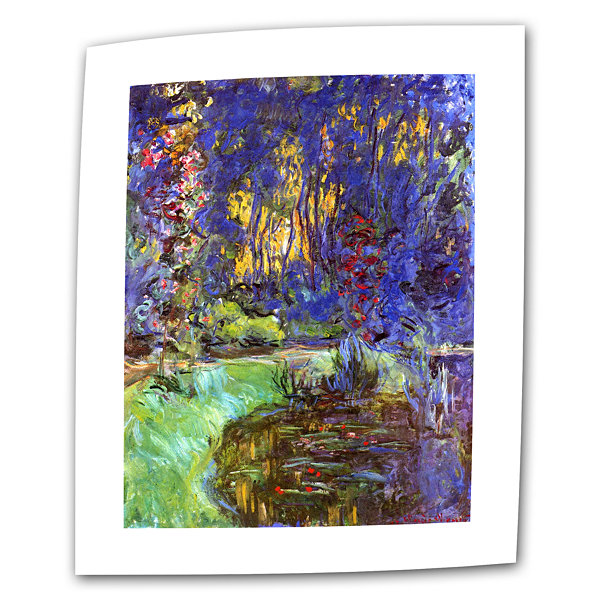 Brushstone The Japanese Footbridge  Giverny CanvasWall Art