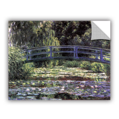 Brushstone The Japanese Footbridge  Giverny Removable Wall Decal