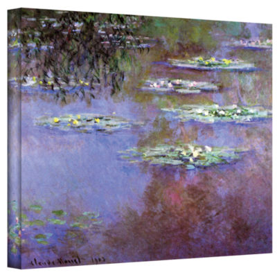 Brushstone Trees Gallery Wrapped Canvas Wall Art