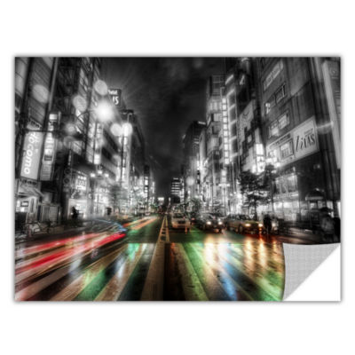 Brushstone Tokyo Night Removable Wall Decal