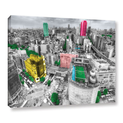 Brushstone Tokyo Skyline Gallery Wrapped Canvas Wall Art