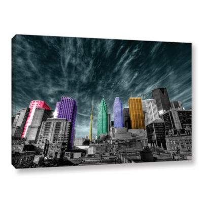 Brushstone Toronto Gallery Wrapped Canvas Wall Art