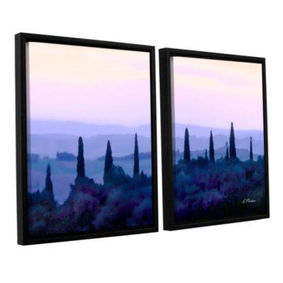 Brushstone Tuscan Morn 2-pc. Floater Framed CanvasWall Art
