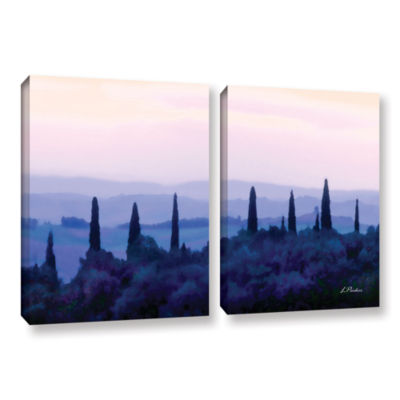 Brushstone Tuscan Morn 2-pc. Gallery Wrapped Canvas Wall Art