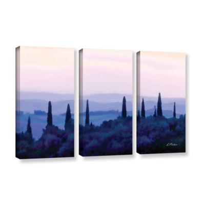 Brushstone Tuscan Morn 3-pc. Gallery Wrapped Canvas Wall Art