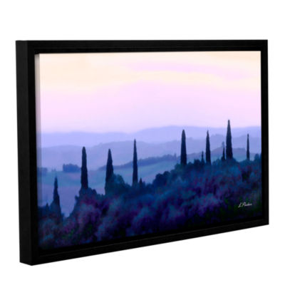 Brushstone Tuscan Morn Gallery Wrapped Floater-Framed Canvas Wall Art