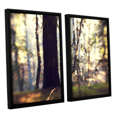 Brushstone Titan Of The Forest 2-pc. Floater Framed Canvas Wall Art
