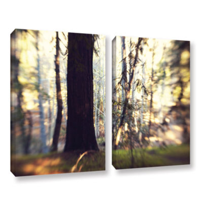 Brushstone Titan Of The Forest 2-pc. Gallery Wrapped Canvas Wall Art