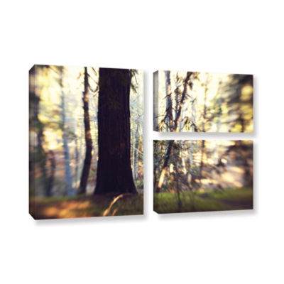 Brushstone Titan Of The Forest 3-pc. Flag Gallery Wrapped Canvas Wall Art
