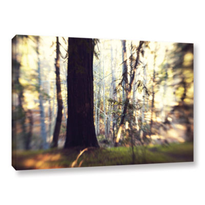 Brushstone Titan Of The Forest Gallery Wrapped Canvas Wall Art
