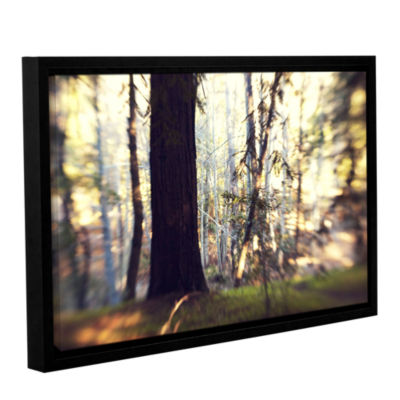 Brushstone Titan Of The Forest Gallery Wrapped Floater-Framed Canvas Wall Art