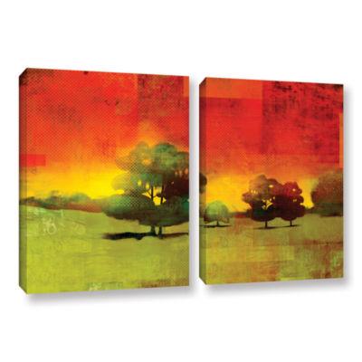 Brushstone Tree Study 2-pc. Gallery Wrapped CanvasWall Art