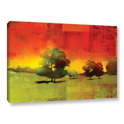 Brushstone Tree Study Gallery Wrapped Canvas WallArt