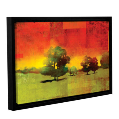 Brushstone Tree Study Gallery Wrapped Floater-Framed Canvas Wall Art