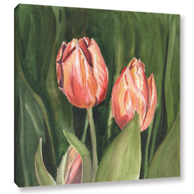 Brushstone Tulips Gallery Wrapped Canvas Wall Art