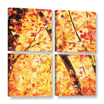 Brushstone The Last Days 4-pc. Square Gallery Wrapped Canvas Wall Art