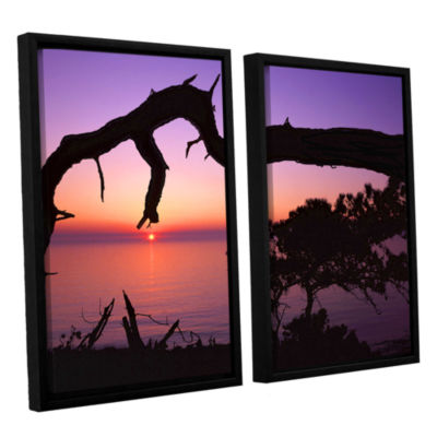 Brushstone Torrey Bridge 2-pc. Floater Framed Canvas Wall Art