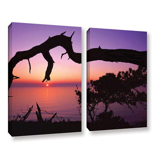 Brushstone Torrey Bridge 2-pc. Gallery Wrapped Canvas Wall Art