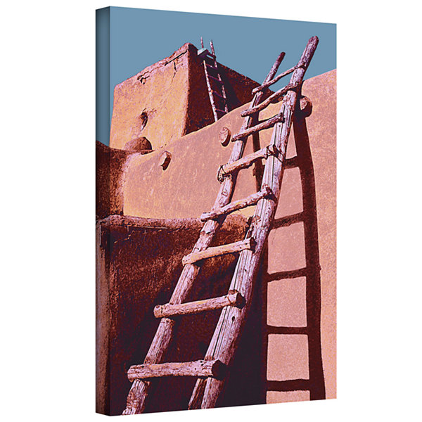 Brushstone The Pueblo Gallery Wrapped Canvas WallArt