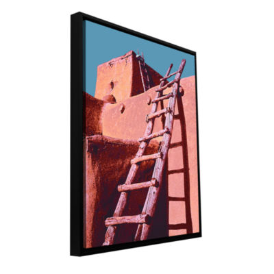 Brushstone The Pueblo Gallery Wrapped Floater-Framed Canvas Wall Art
