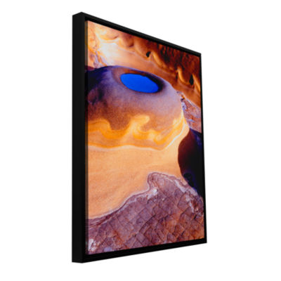 Brushstone The Last Pool Gallery Wrapped Floater-Framed Canvas Wall Art