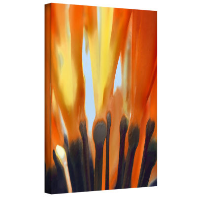 Brushstone Towards The Light Gallery Wrapped Canvas Wall Art