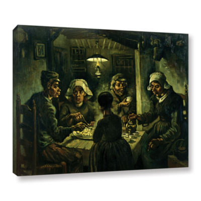 Brushstone The Potato Eaters Gallery Wrapped Canvas Wall Art