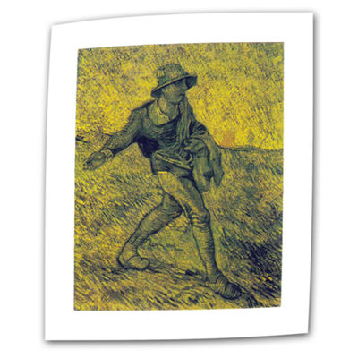 Brushstone The Sower (026) Canvas Wall Art