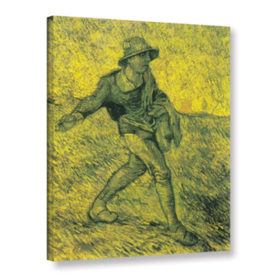 Brushstone The Sower (026) Gallery Wrapped CanvasWall Art