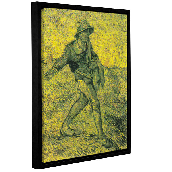 Brushstone The Sower (026) Gallery Wrapped Floater-Framed Canvas Wall Art