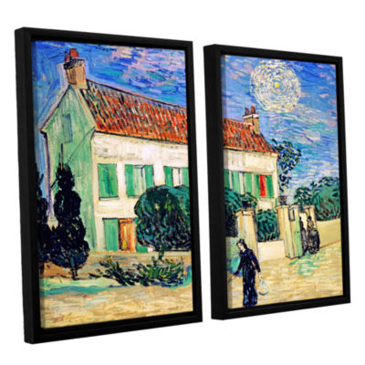 Brushstone The White House At Night 2-pc. Floater Framed Canvas Wall Art