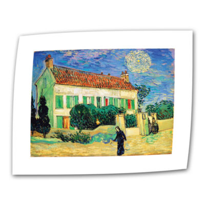 Brushstone The White House At Night Canvas Wall Art