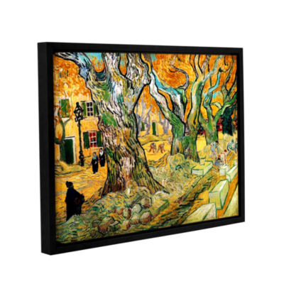 Brushstone The Road Menders Gallery Wrapped Floater-Framed Canvas Wall Art