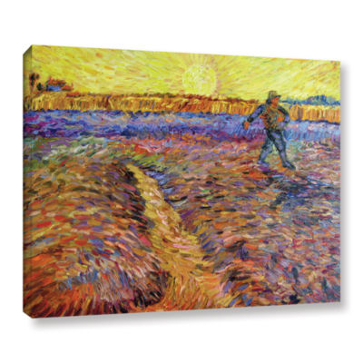 Brushstone The Sower (051) Gallery Wrapped CanvasWall Art