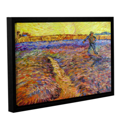 Brushstone The Sower (051) Gallery Wrapped Floater-Framed Canvas Wall Art